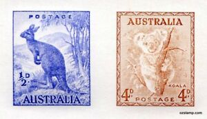 Australia-Replica-Card-31-d-Kangaroo-4d-Koala-Die-Proof