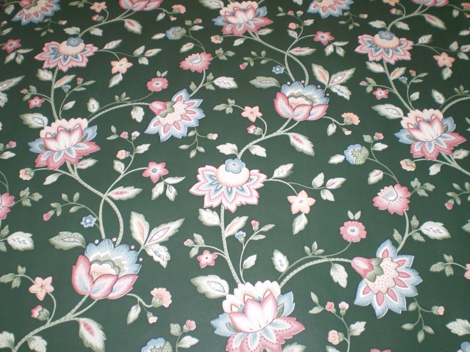 Fine Decor Dollhouse Collection Wallpaper Classic Green Floral