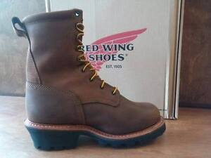 54799d3f39bf Men s Red Wing 9-inch Logger Work Boots New In Box Style 4420