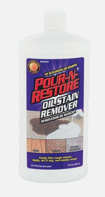 Oil Stain Remover 32 Oz Outdoor Grease