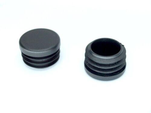 2 St 0,56€//St Abschluss Stopfen Rundrohr 16mm 1-2mm