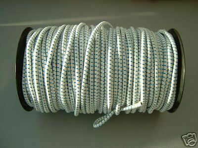 40 MTRS X 5MM SHOCK CORD ELASTIC BUNGEE ROPE BOATS