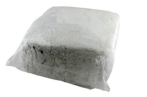 Trikot Putzlappen im Polywürfel weiss 10kg fusselfrei und gut saugend *786
