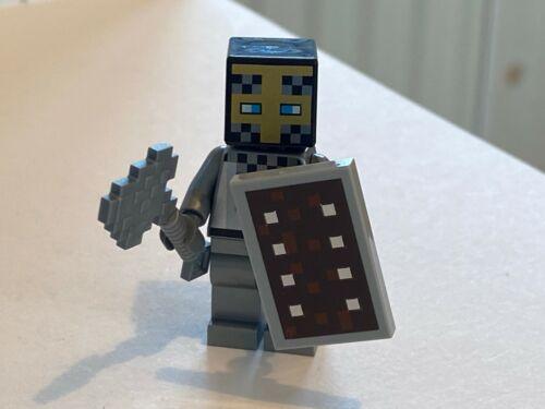 AXE /& SHIELD FROM SET 21159 RARE LEGO MINECRAFT KNIGHT