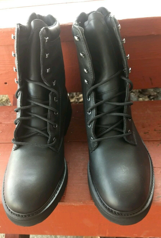 botas de trabajo America Works aislado Mason zapatos Extra Ancho 2