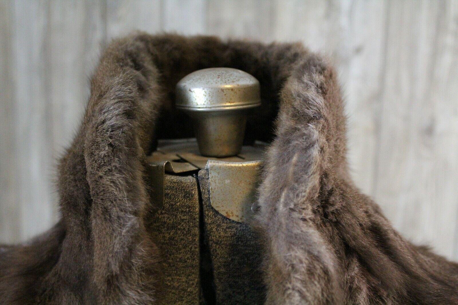 Vintage Goldblatt's Fur Shaw Stole Brown Mink Old… - image 6