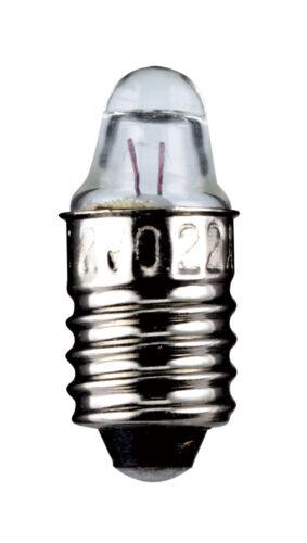 Kleinstlampen kugelförmig linsenförmig röhrenförmig olivenförmig E10 E5.5 BA9s