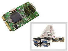 Carte MiniPCIe - COM RS232 - 4 PORTS - Mini PCI Express