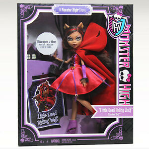 Monster-High-Story-SCARY-TALES-Little-Dead-Riding-Wolf-CLAWDEEN-Doll-Red-Hood