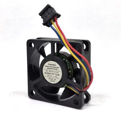 power LOGIC PLA03010S12M 3010 3CM 30mm DC 12V 0.07A tachometer quiet silent fan