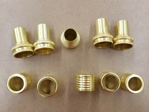 5 pack of 3//4 Female Hose Ends with 5 Ferrule Gilmour Gates # 0951681 CRIMP ON