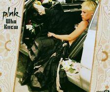 P!nk Who knew (2006) [Maxi-CD]