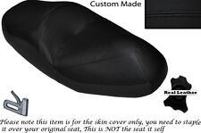 BLACK STITCH CUSTOM FITS HONDA FORESIGHT 250 DUAL LEATHER SEAT COVER