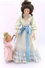 "Porzellan Puppen Set Ashton Drake "" Sandra Kuck "" Mutter mit Kind doll porcelain"
