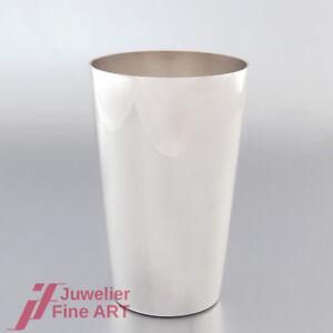 TAFELSILBER-sehr-schoener-klassischer-Trink-Becher-925-Sterling-Silber