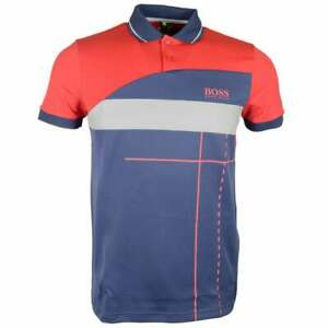 Hugo-Boss-Paddy-MK-2-Regular-Fit-Navy-Red-Polo