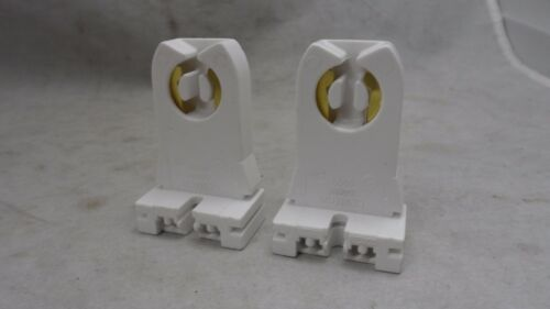 2 New Leviton Fluorescent Lamp Holder T8 T12 Light Socket 660W