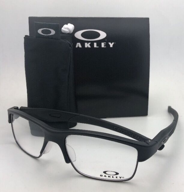713f62cd0e7 ... germany new oakley eyeglasses crosslink switch ox3128 0153 53 18 matte  satin black frame bb629 9e4b1