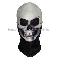 Lycra Snood Balaclava Halloween Face Mask Scary Horror Grim Reaper Fancy Dress