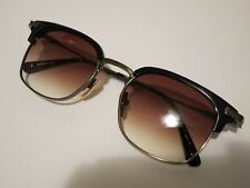 2e85a3a3ffb DITA NOMAD DRX-2080D-T Navy Antique Gold Brown Glasses Eyewear Sunglasses  Shade