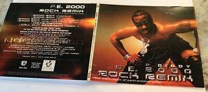P. Diddy: P.E. 2000 Rock Remix PROMO w/ Artwork MUSIC AUDIO CD Edits Alternate 6