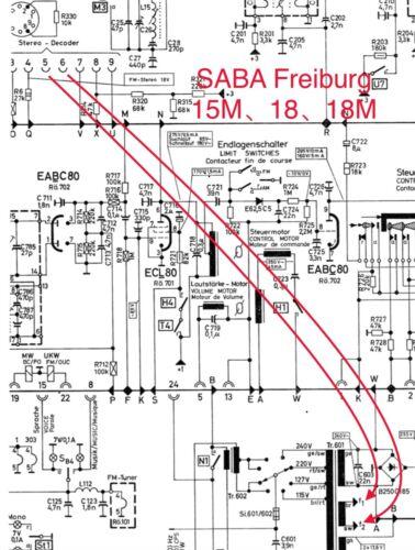 FM Stereo Decoder Multiplex For Saba Freiburg 14,Freiburg15,CONTINENTAL 410 US