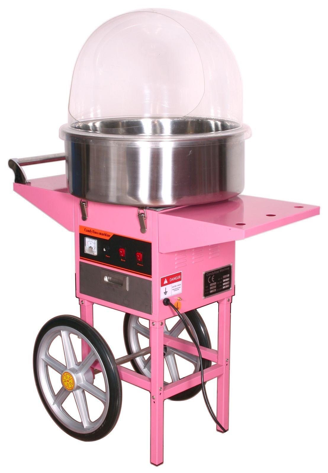 Cotton Candy Floss Maker Machine/Housse avec panier, JOUR OUVRABLE SUIVANT livraison livraison SUIVANT NEUF 87532a