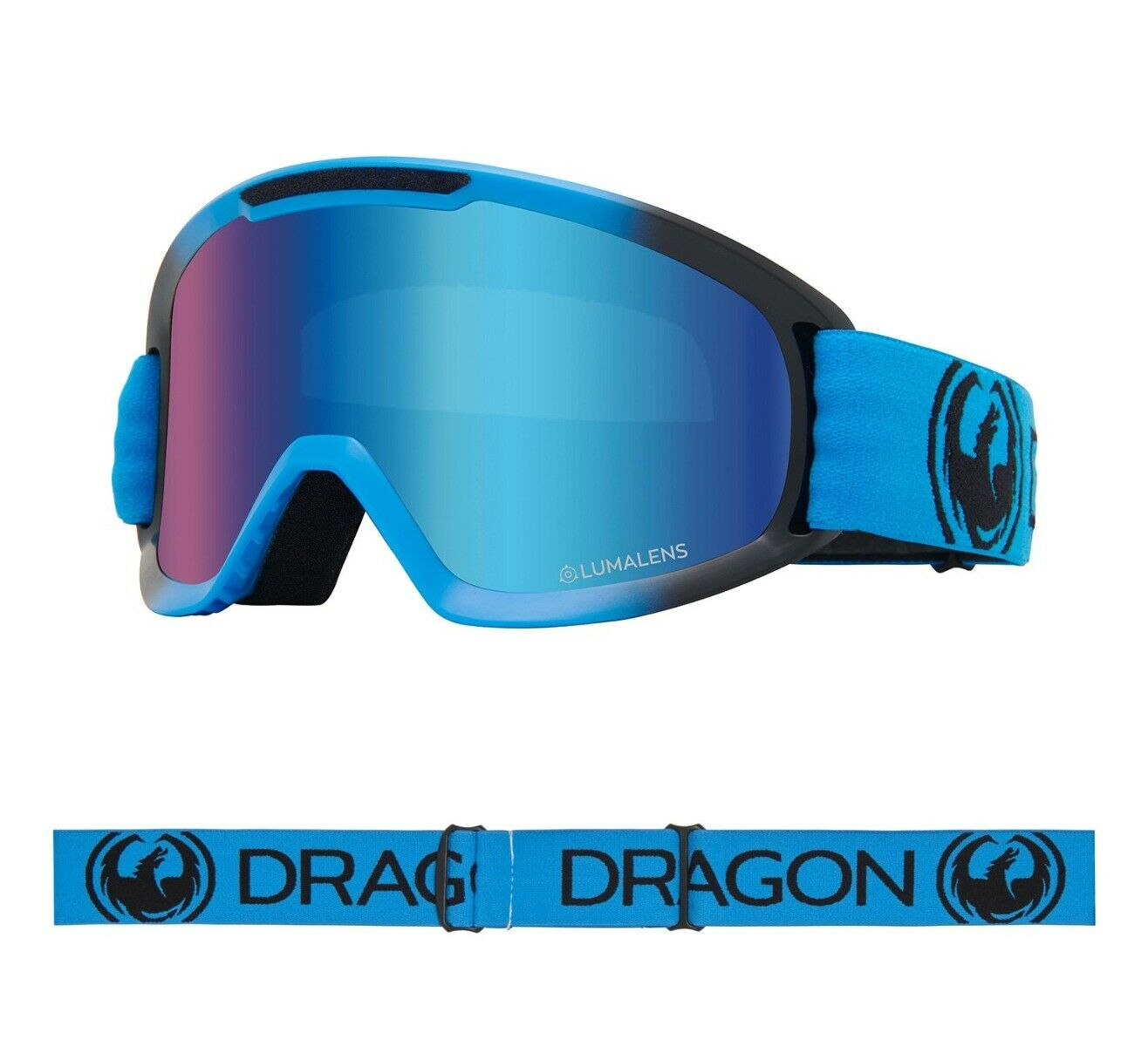 Dragon DX2 Goggles (Blueberry w/Lumalens Blue Ion & Lumalens Amber)