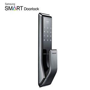 Samsung Télécommande Smart Digital Serrure De Porte Push & Pull Shp-dp710 + 2 Porte-clés Express-afficher Le Titre D'origine