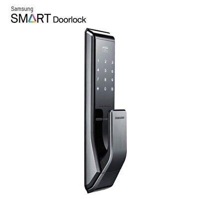 UPS Samsung SHP-DP710 Digital Door Lock Push//Pull Password Keyless 2xKey Tag