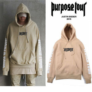 new 2016 justin bieber purpose the world tour hoodie. Black Bedroom Furniture Sets. Home Design Ideas