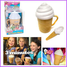 Magic Ice Cream Maker Cup Kids No Blender No Mess Scoop Incl 3 Minutes AS ON TV