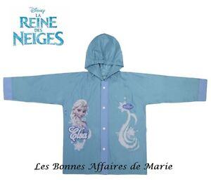 DISNEY-REINE-DES-NEIGES-Nouveaute-Impermeable-coupe-vent-bleu-ciel-Neuf