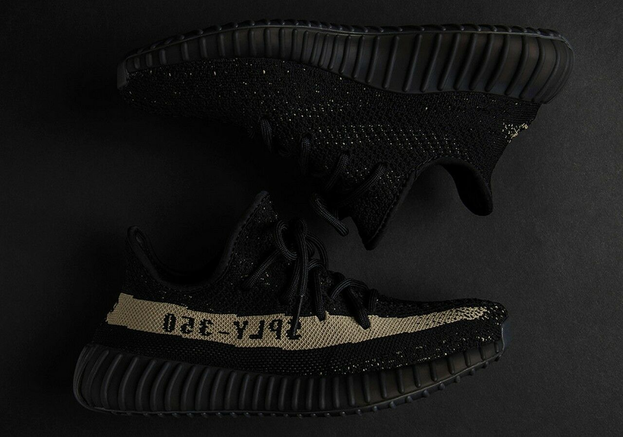 Adidas YEEZY Boost 350 V2 'Green' Core Black Green sply 750 BY9611