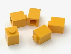 Lego 5 New Bright Light Orange Bricks Arch 1 x 3 x 2 Inverted Pieces