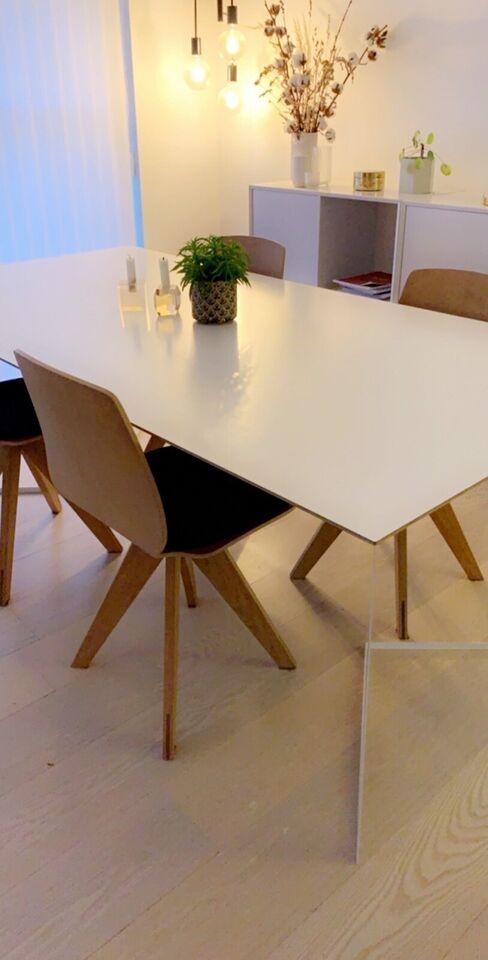 Spisebord, Krydsfiner/laminat, b: 100 l: 200