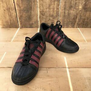 K-SWISS - sneakers basket femme - cuir - 38