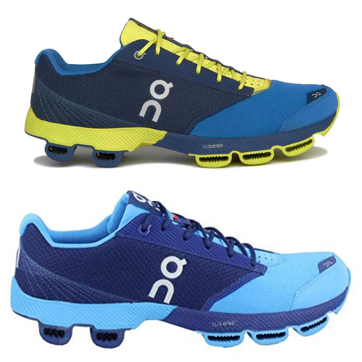On Running Running Cloudster Herren Laufschuhe Blau Gelb Running Running Schuhe Freizeit NEU 8db1e4