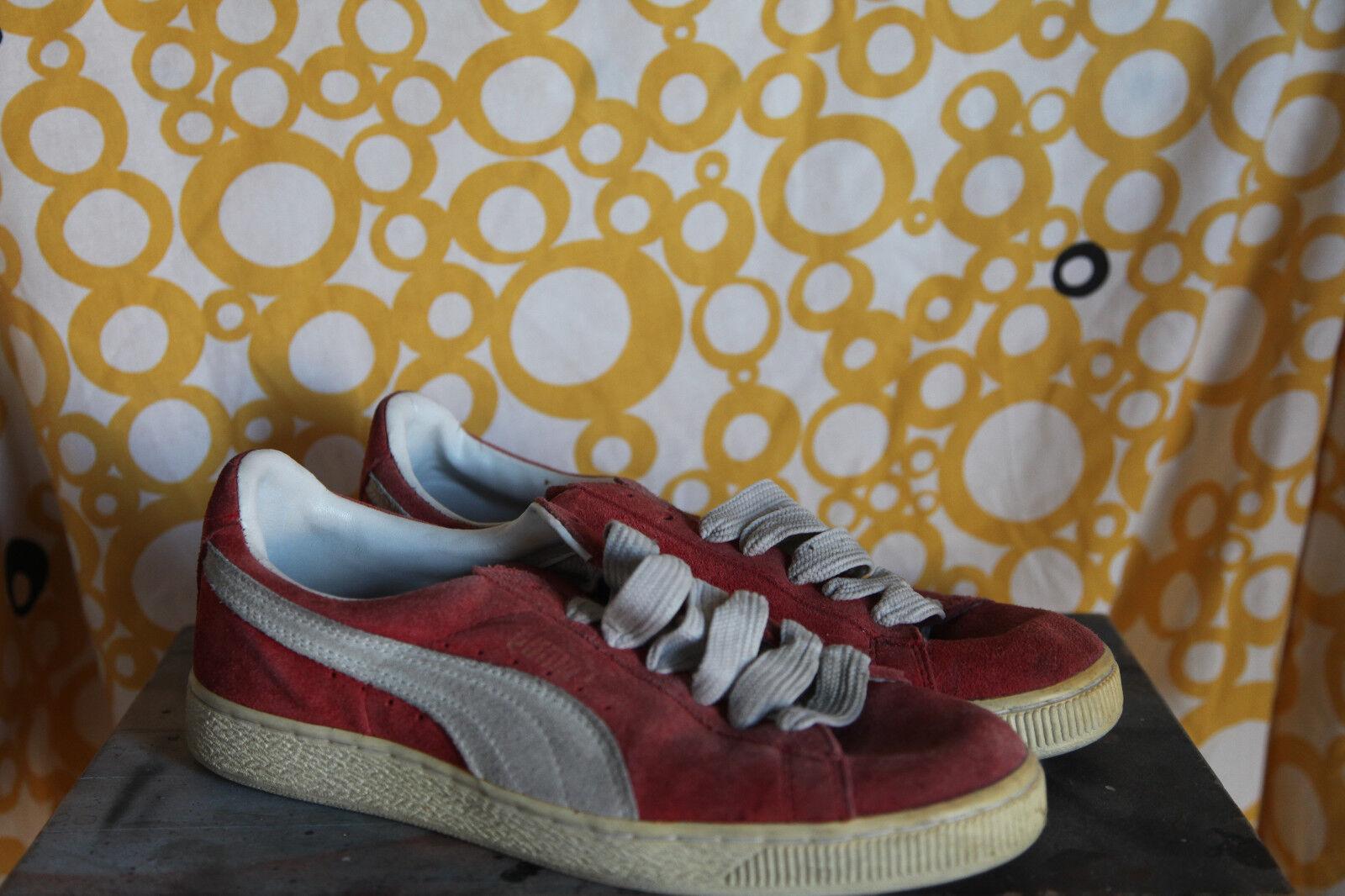 Puma Basket Red Sz US 10 early 90s