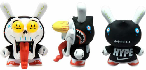 "Kidrobot Dunny Side Show 2012 The Wild Ones 3/"" Pezzi Singoli Seleziona"