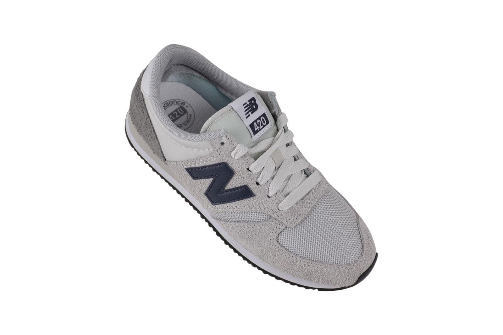 New balance u420 ggw blanco zapatilla de deporte zapatos gris blancoo