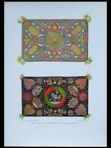 PILLOWS-WOOL-EMBROIDERY-1925-PHOTOLITHOGRAPH-GERMANY