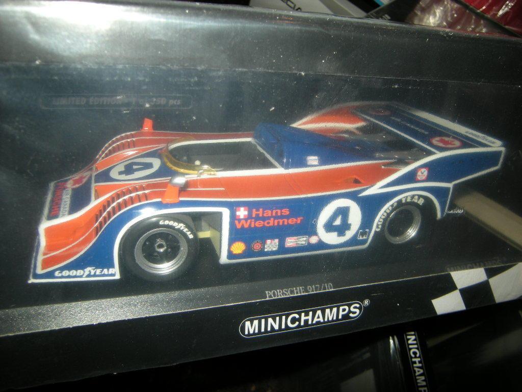 1 18 Minichamps PORSCHE 917 10  4 CAN-AM 1973 Limited Edition 1 of 350 PCS OVP