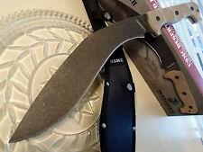 United USMC Licensed Desert Sand Combat Kukri Machete Knife Full Tang G10 3145