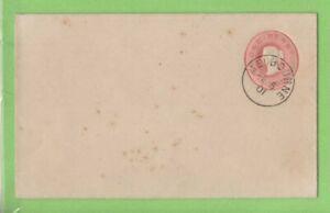 Australia-Victoria-1901-Q-V-1d-postal-stationery-cover-Melbourne