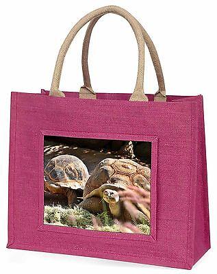 Riese Landschildkröte Große Rosa Einkaufstasche Weihnachten Geschenkidee,