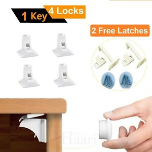 Fabulous Details About 4 Invisible Magnetic Baby Child Pet Proof Cupboard Door Safety Lock 2 Free Latch Beatyapartments Chair Design Images Beatyapartmentscom