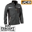 JCB-Workwear-Essington-Full-Zip-Grey-Marl-Knit-Jumper-Fleece-Soft-Shell-Jacket