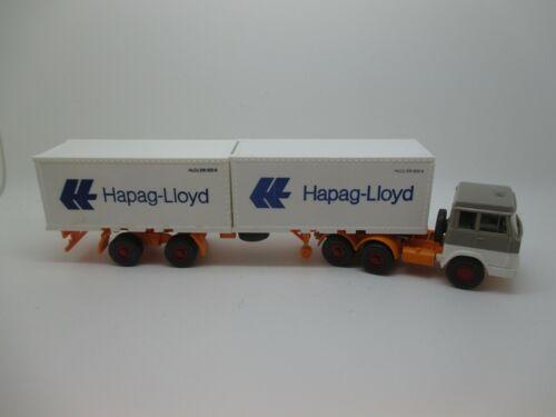 """Nr.3 SSK9 * Saure HB 837//1CF Wiking: Henschel Container-STZ /""""Hapag Lloyd/"""""""