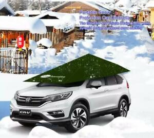 Hail Protection Car Cover >> Details About Automatic Car Cover Umbrella Hail Protection Anti Snow Car Umbrella